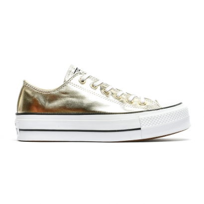Converse Womens CT All Star Lift Clean OX Metallic
