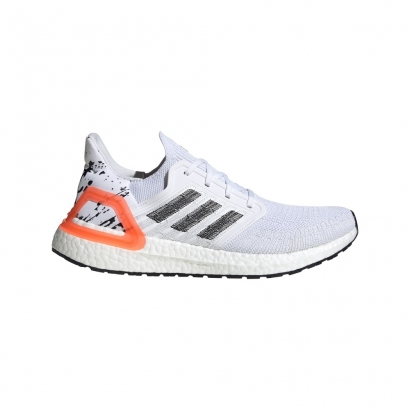 adidas Performance Mens Ultraboost 20 Άσπρο - Πορτοκαλί