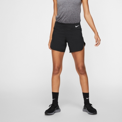 Nike Womens Eclipse 5in Short Μαύρο